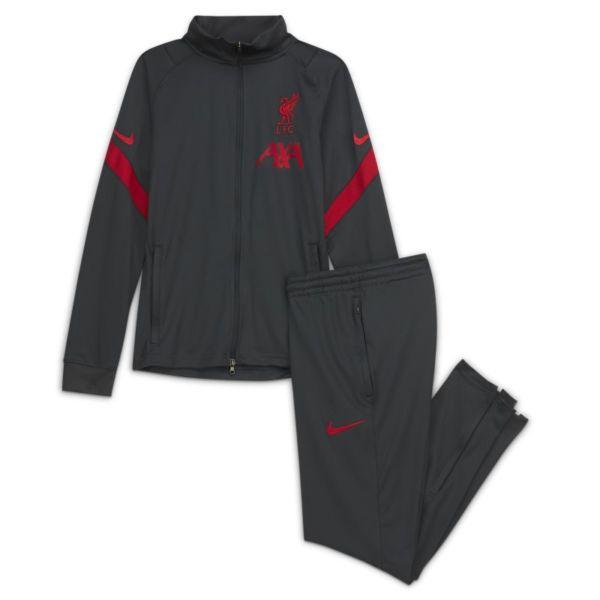 Strike Liverpool FC Chándal de fútbol de tejido Knit - Niño/a - Negro
