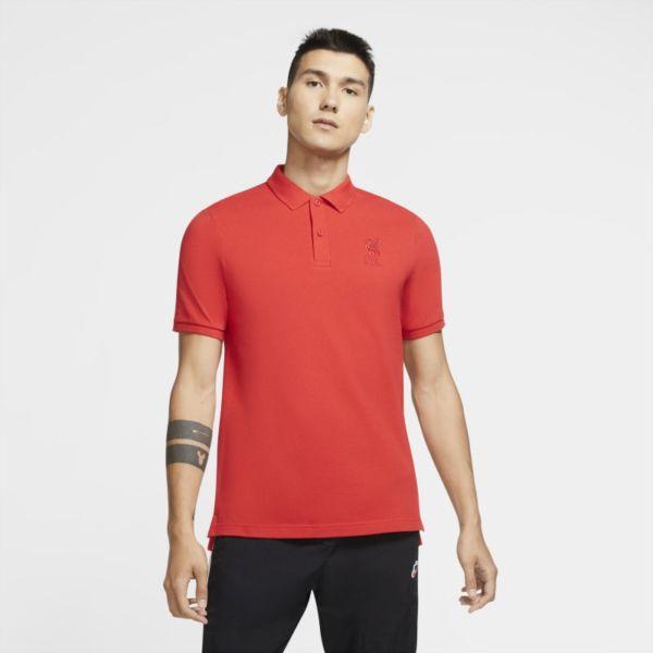 Liverpool FC Polo - Hombre - Rojo
