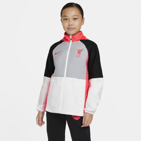 Liverpool FC AWF Chaqueta de fútbol - Niño/a - Gris