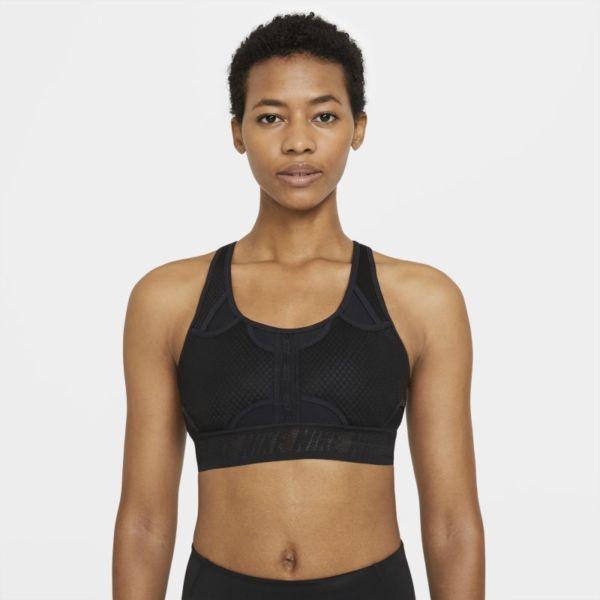 Nike Dri-FIT ADV Swoosh Sujetador deportivo de sujeción media - Mujer - Negro