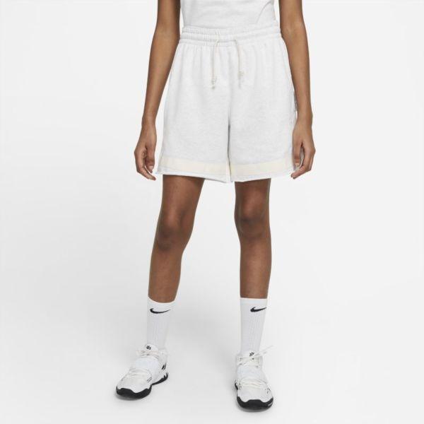 Nike Standard Issue Swoosh Fly Pantalón corto de baloncesto - Mujer - Marrón