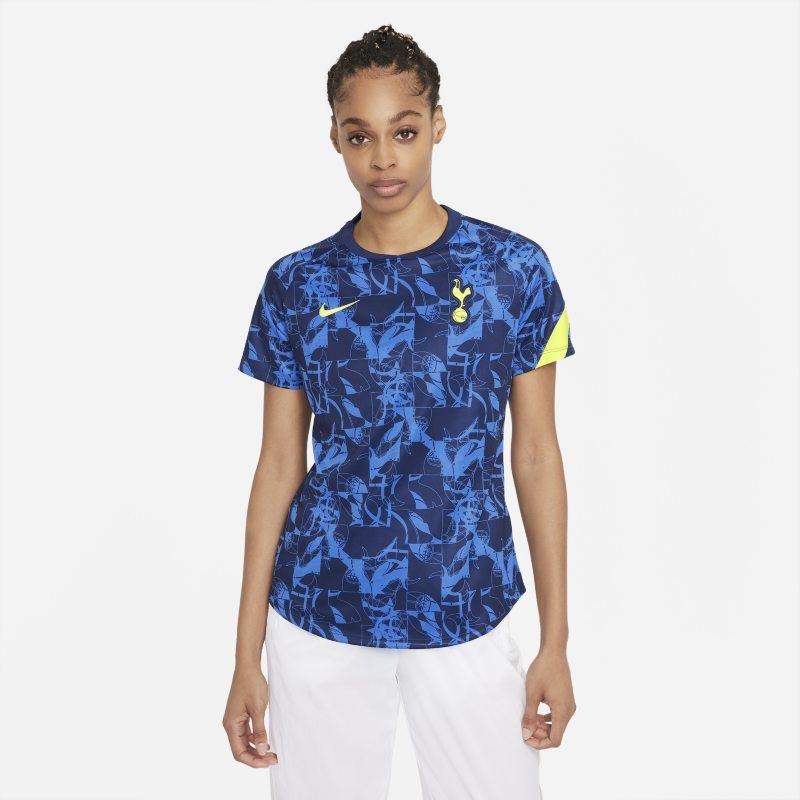 Tottenham Hotspur Camiseta de fútbol de manga corta para antes del partido - Mujer - Azul