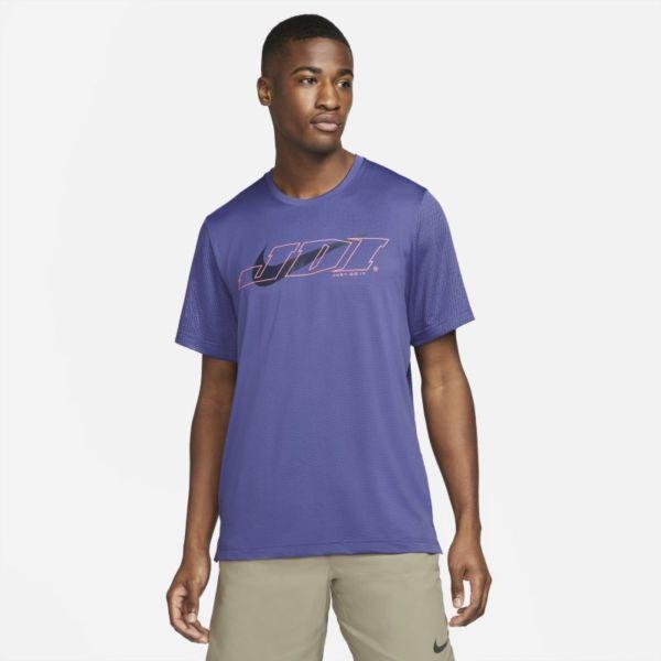 Nike Sport Clash Camiseta de entrenamiento de manga corta - Hombre - Morado