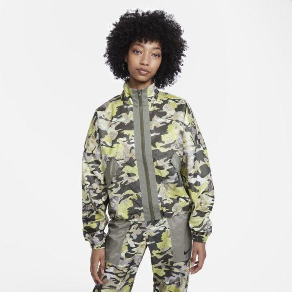 Nike Sportswear Chaqueta de tejido Woven - Mujer - Marrón
