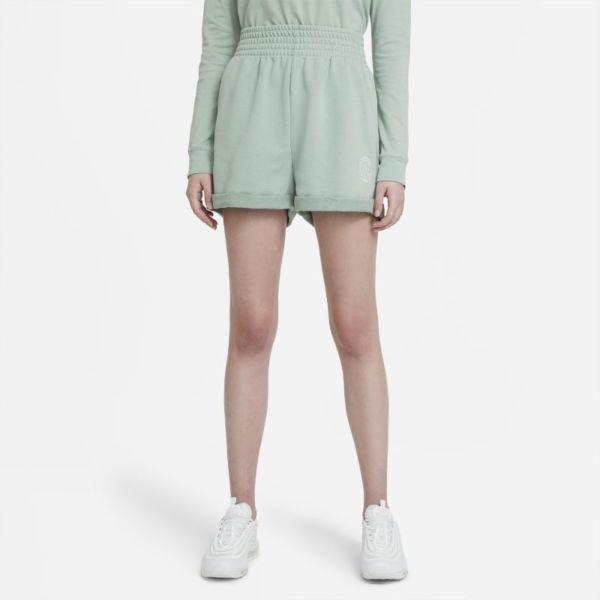 Nike Sportswear Femme Pantalón corto - Mujer - Verde