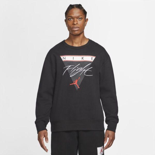 Jordan Flight Sudadera de chándal de tejido Fleece con estampado - Hombre - Negro