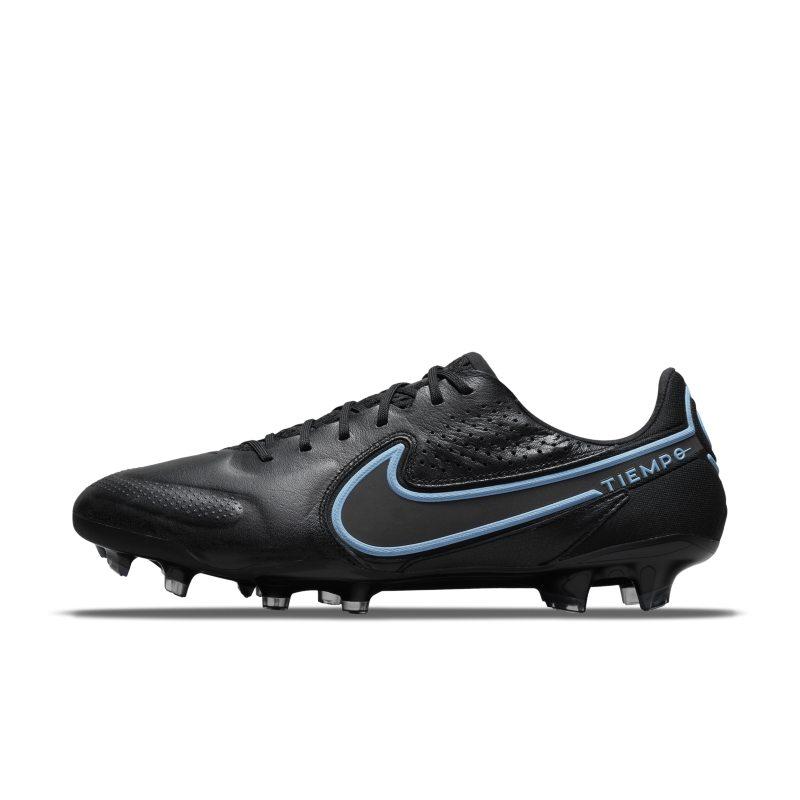 Nike Tiempo Legend 9 Elite FG Botas de fútbol para terreno firme - Negro