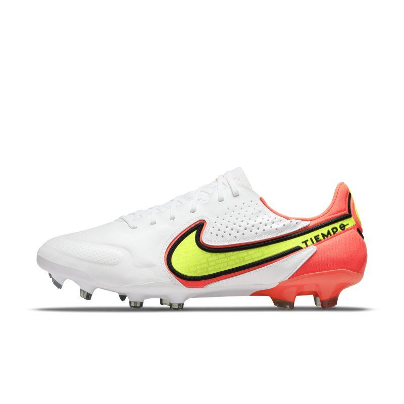 Nike Tiempo Legend 9 Elite FG Botas de fútbol para terreno firme - Blanco
