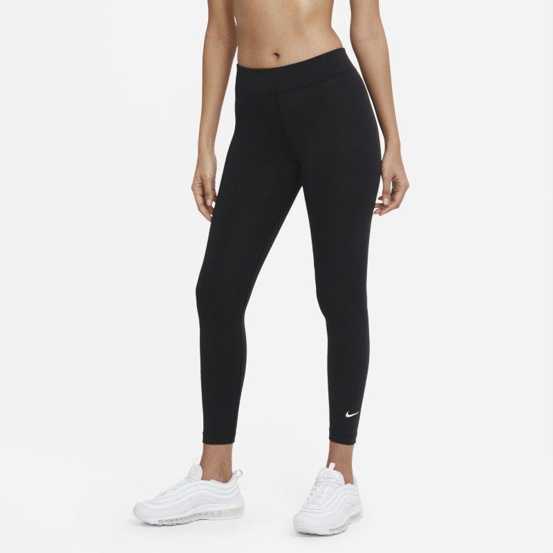 Nike Sportswear Essential Leggings de talle medio de 7/8 - Mujer - Negro