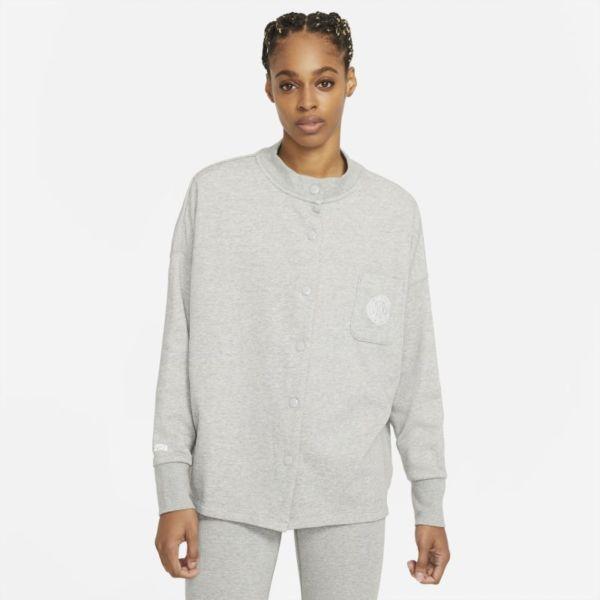 Nike Sportswear Femme Chaqueta de punto de tejido French terry - Mujer - Gris