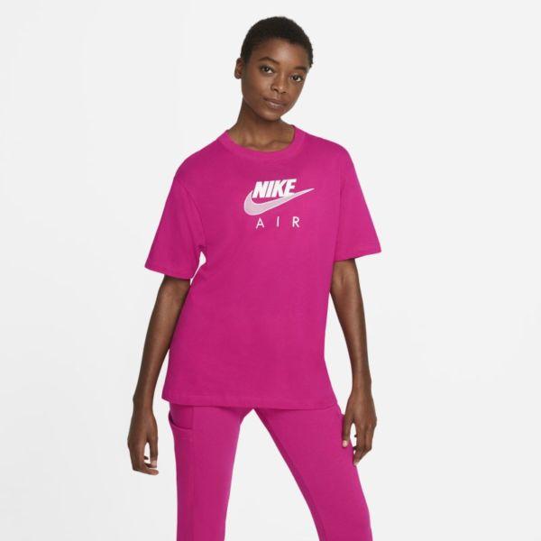 Nike Air Camiseta extragrande - Mujer - Rosa