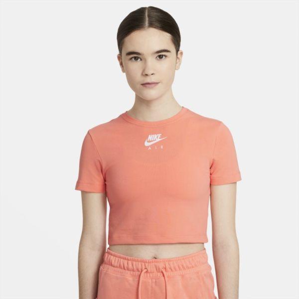 Nike Air Camiseta corta de manga corta - Mujer - Rosa