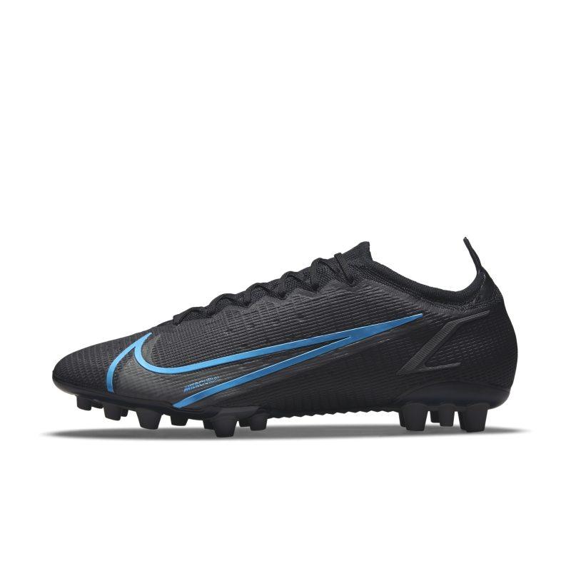 Nike Mercurial Vapor 14 Elite AG Botas de fútbol para césped artificial - Negro