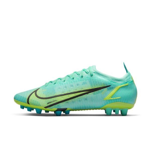 Nike Mercurial Vapor 14 Elite AG Botas de fútbol para césped artificial - Azul