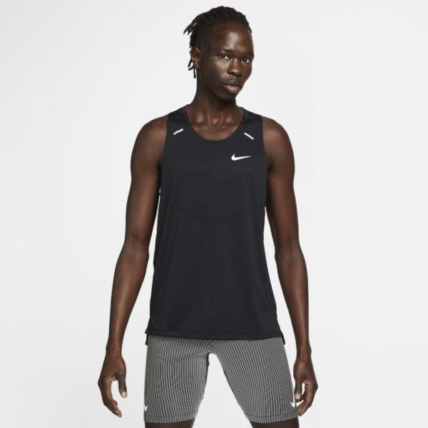 Nike Dri-FIT Rise 365 Camiseta de tirantes de running - Hombre - Negro