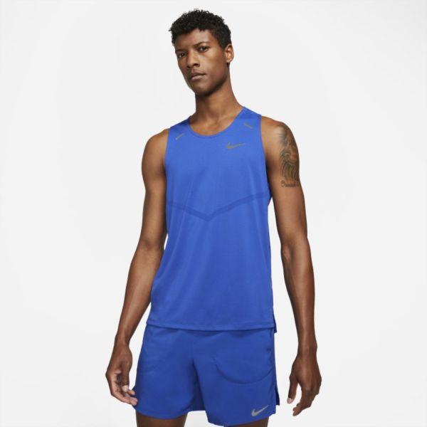 Nike Dri-FIT Rise 365 Camiseta de tirantes de running - Hombre - Azul