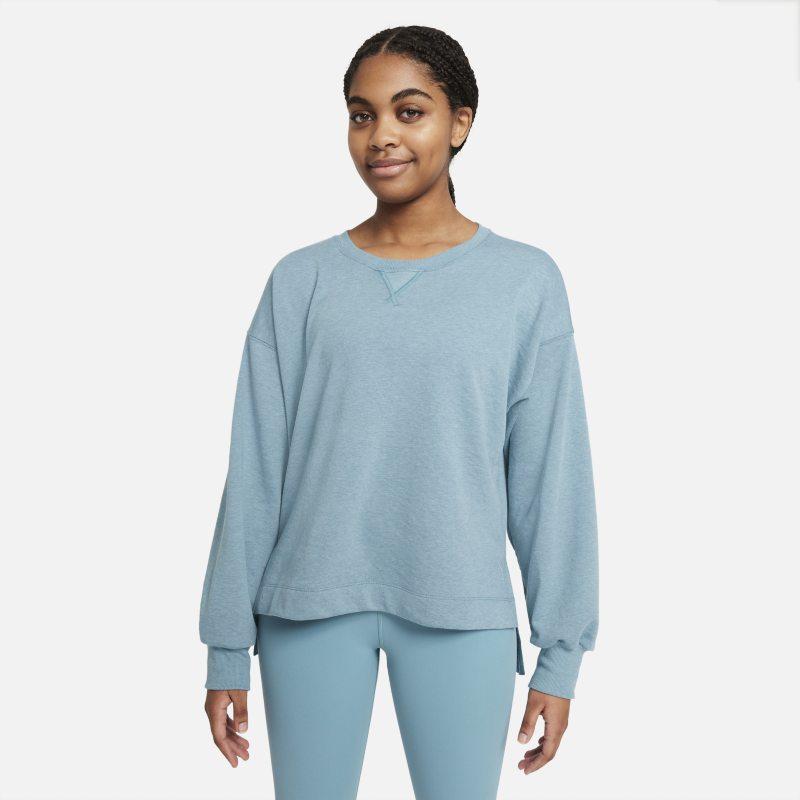 Nike Yoga Camiseta - Mujer - Azul