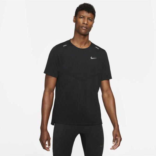 Nike Dri-FIT Rise 365 Camiseta de running de manga corta - Hombre - Negro