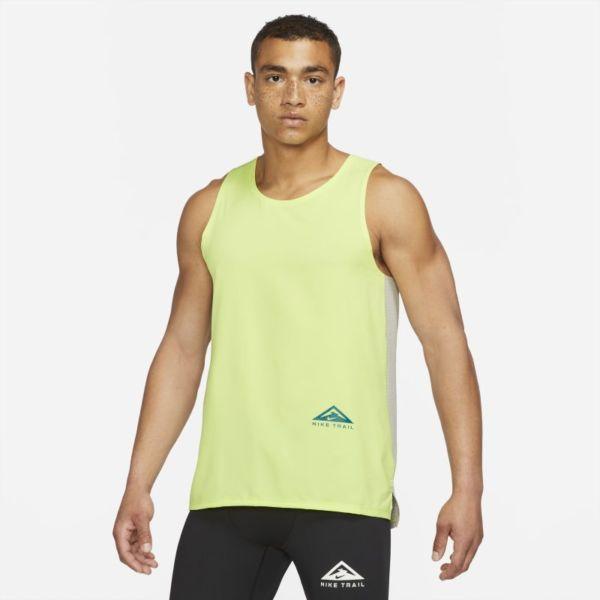 Nike Dri-FIT Rise 365 Camiseta de tirantes de trail running - Hombre - Gris