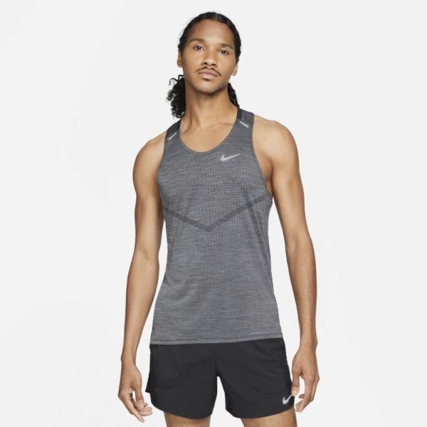 Nike Dri-FIT ADV Techknit Ultra Camiseta de tirantes de running - Hombre - Negro