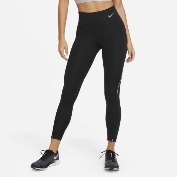 Nike Epic Faster Leggings de running de 7/8 de talle medio - Mujer - Negro