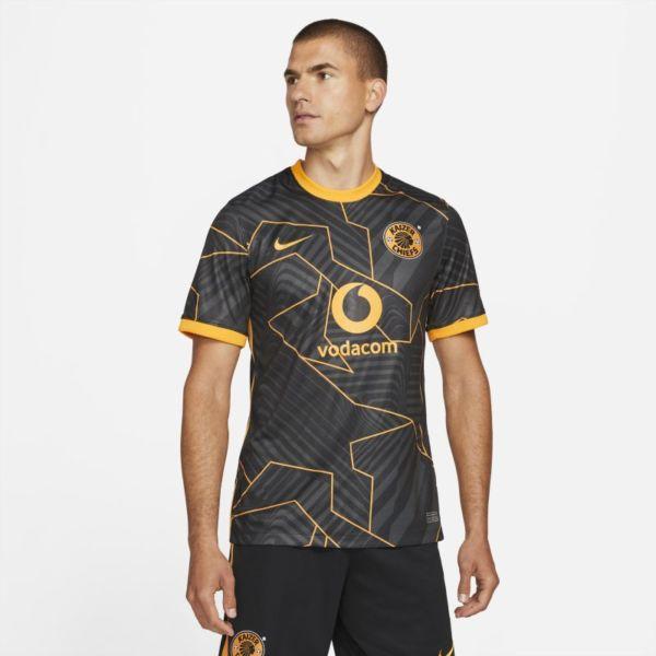 Segunda equipación Stadium Kaizer Chiefs FC 2021/22 Camiseta de fútbol Nike Dri-FIT - Hombre - Negro