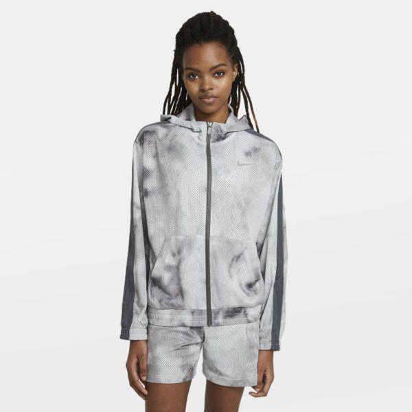 Nike Sportswear Icon Clash Chaqueta - Mujer - Gris
