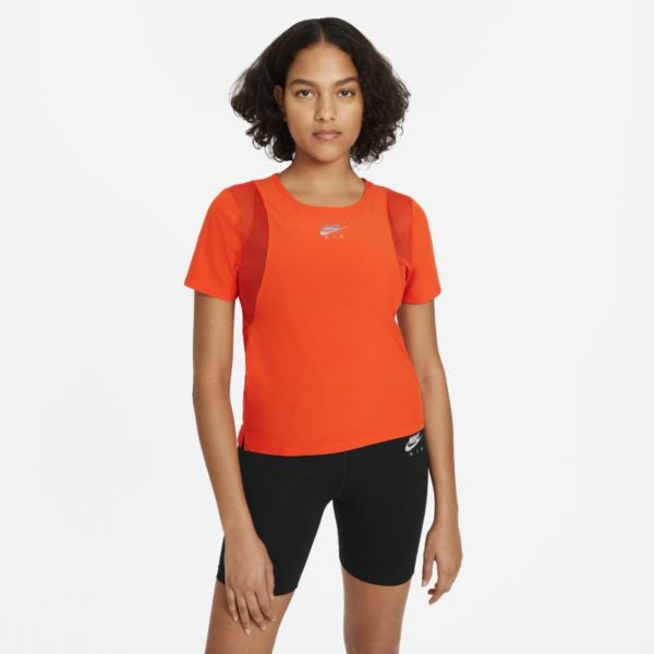 Nike Air Camiseta de running - Mujer - Naranja