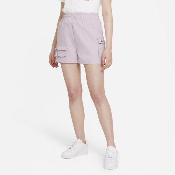 Nike Sportswear Swoosh Pantalón corto militar - Mujer - Morado