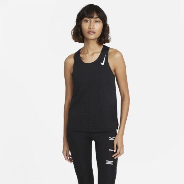 Nike AeroSwift Camiseta de running - Mujer - Negro