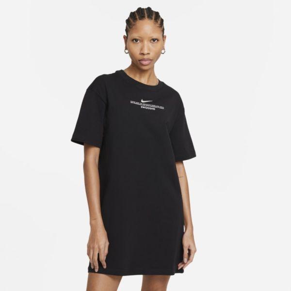 Nike Sportswear Swoosh Vestido - Mujer - Negro
