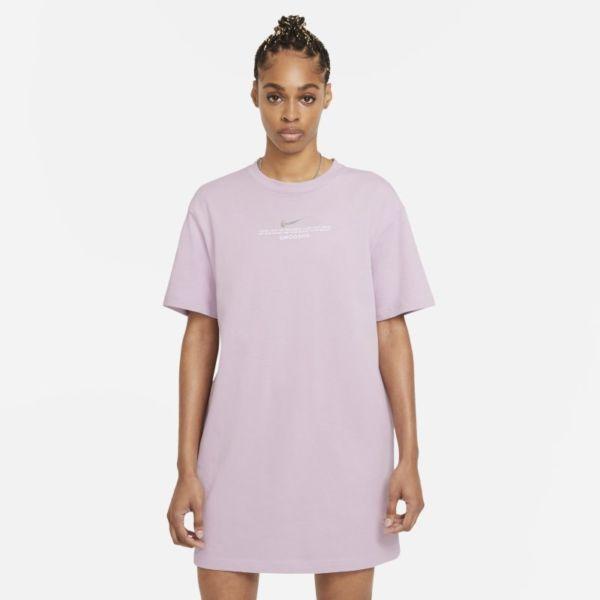 Nike Sportswear Swoosh Vestido - Mujer - Morado
