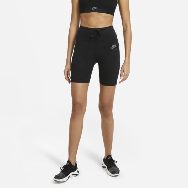 Nike Air Pantalón corto de running tipo malla - Mujer - Negro