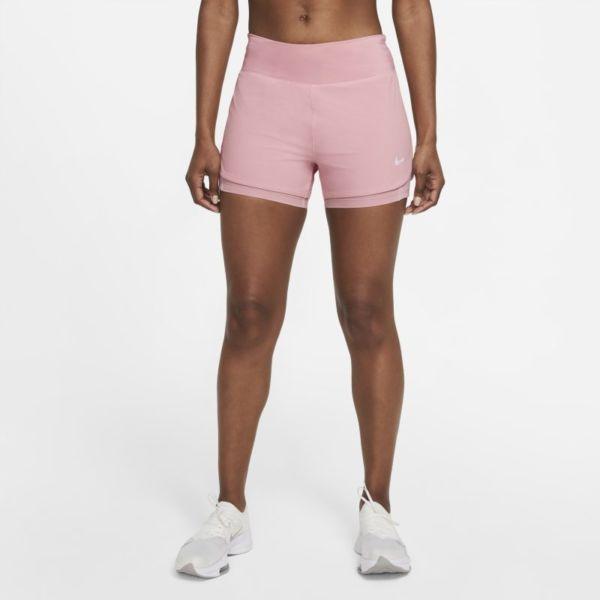 Nike Eclipse Pantalón corto de running 2 en 1 - Mujer - Rosa