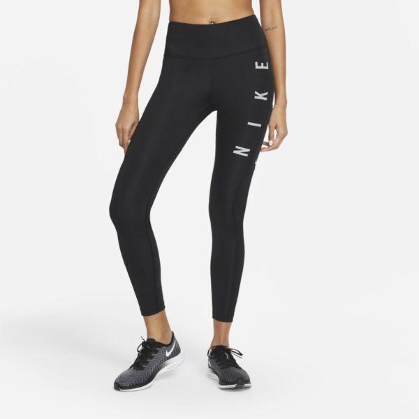 Nike Epic Fast Run Division Leggings de running de talle medio - Mujer - Negro