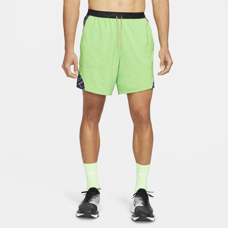 Nike Flex Stride Wild Run Pantalón corto de running con forro de slip - Hombre - Verde