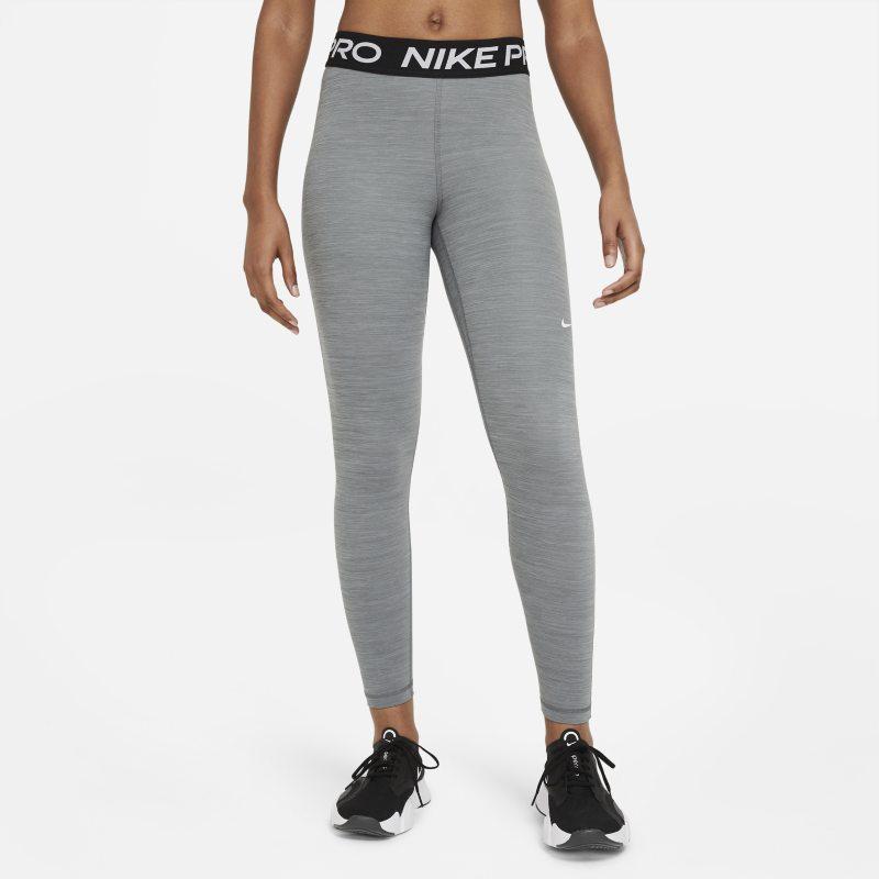 Nike Pro Leggings de talle medio - Mujer - Gris