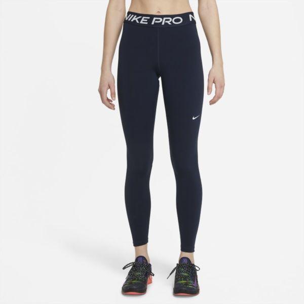 Nike Pro Leggings de talle medio - Mujer - Azul