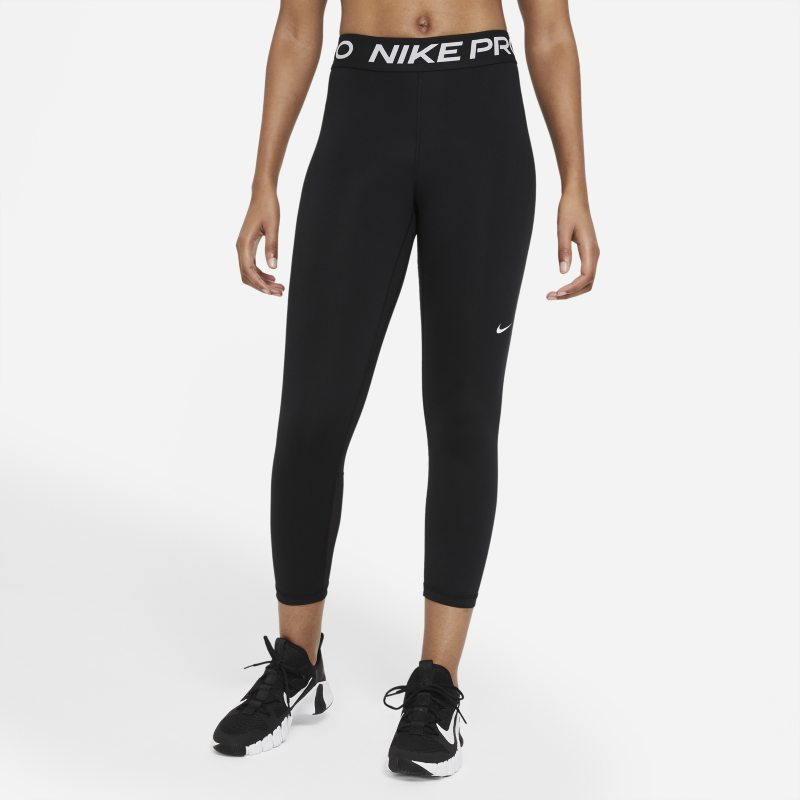Nike Pro 365 Leggings cortos de talle medio - Mujer - Negro