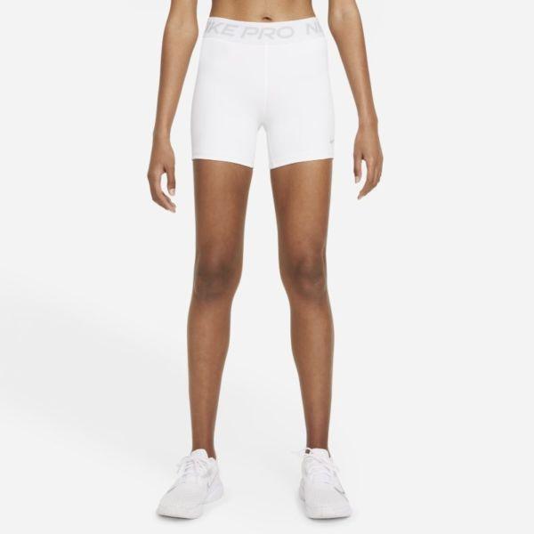 Nike Pro 365 Pantalón corto de 13 cm - Mujer - Blanco