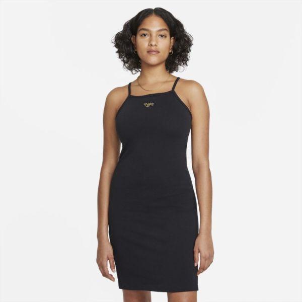 Nike Sportswear Femme Vestido - Mujer - Negro