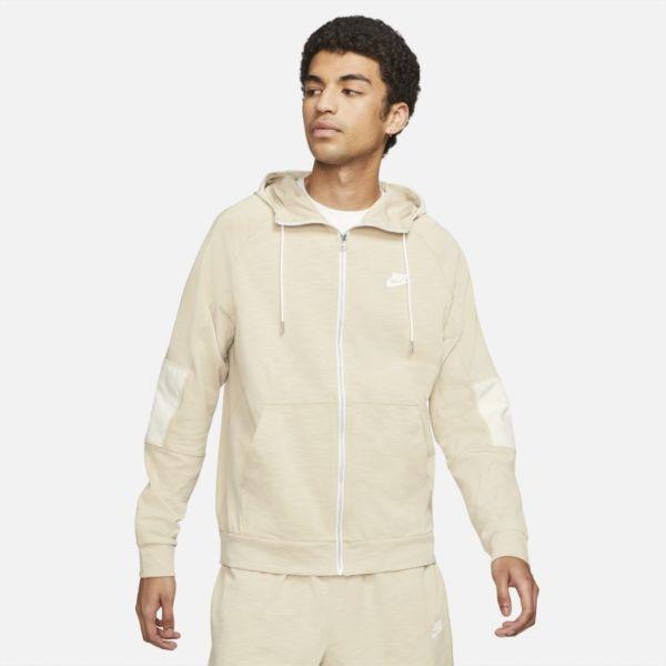 Nike Sportswear Modern Essentials Sudadera con capucha ligera con cremallera completa - Hombre - Marrón