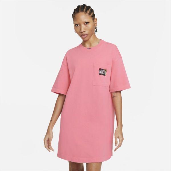 Nike Sportswear Vestido con efecto lavado - Mujer - Rosa