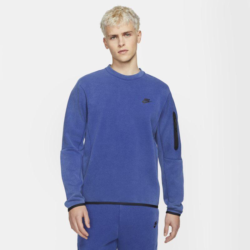 Nike Sportswear Tech Fleece Sudadera con efecto lavado - Hombre - Azul