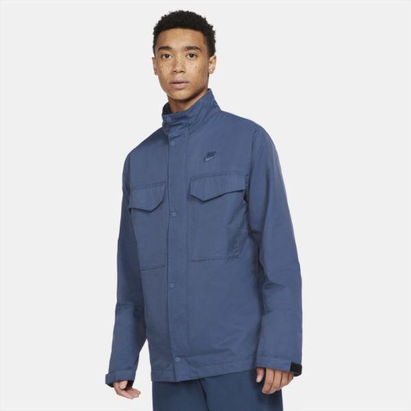 Nike Sportswear Chaqueta M65 de tejido Woven - Hombre - Azul