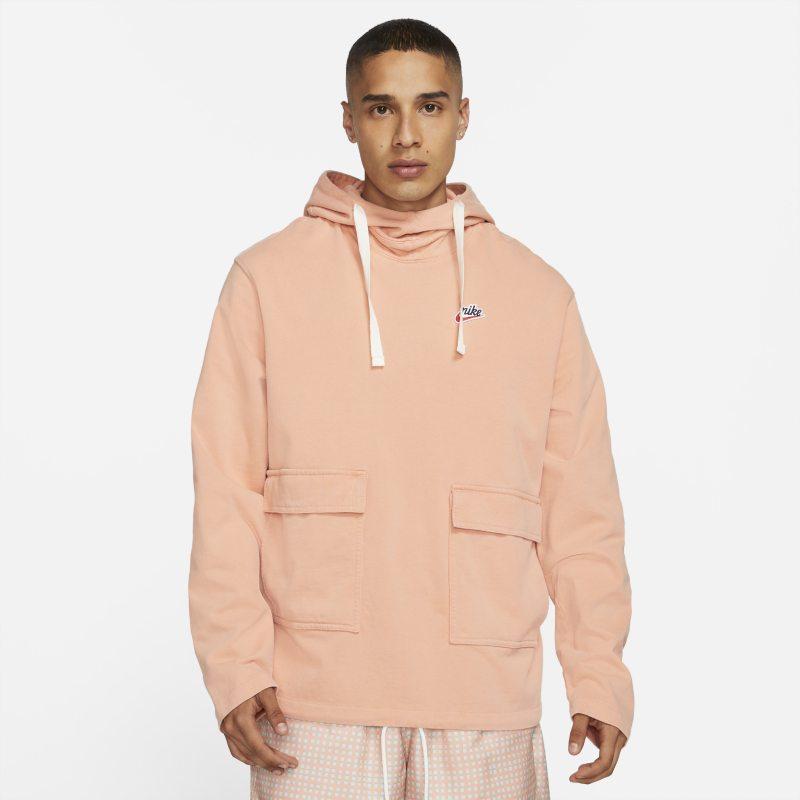 Nike Sportswear Heritage Essentials Sudadera con capucha de tejido Knit - Hombre - Naranja