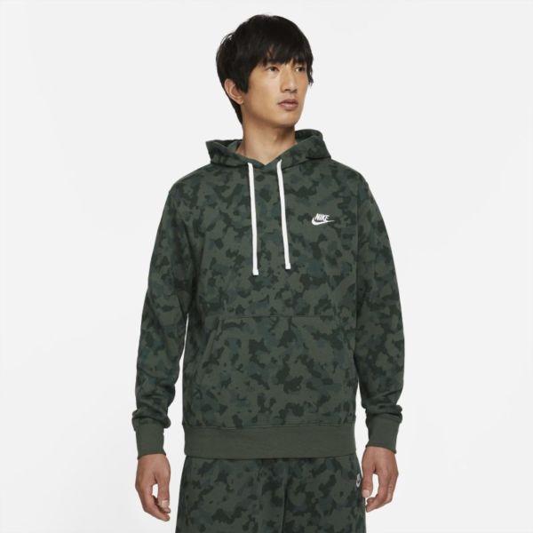 Nike Sportswear Club Sudadera con capucha de tejido French terry - Hombre - Verde
