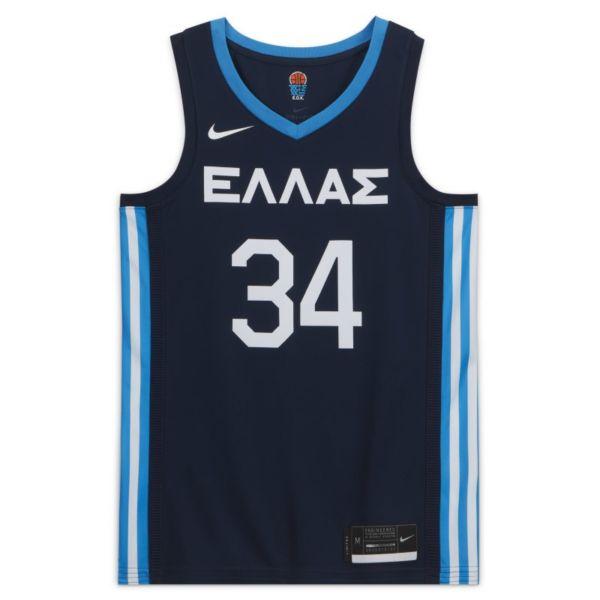 Segunda equipación Grecia Nike Limited Camiseta de baloncesto - Hombre - Azul