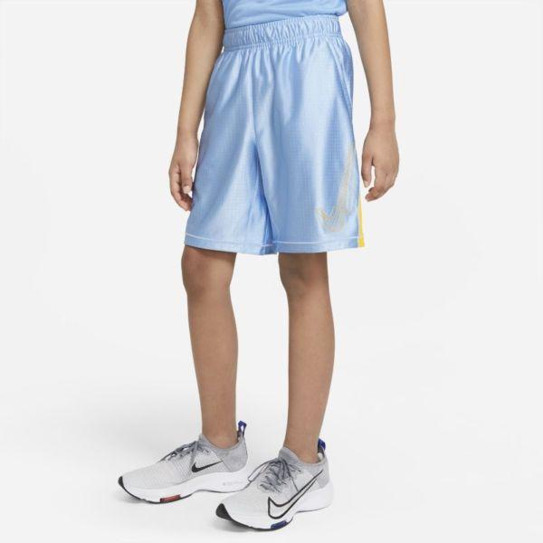Nike Dri-FIT Graphic Pantalón corto - Niño - Azul
