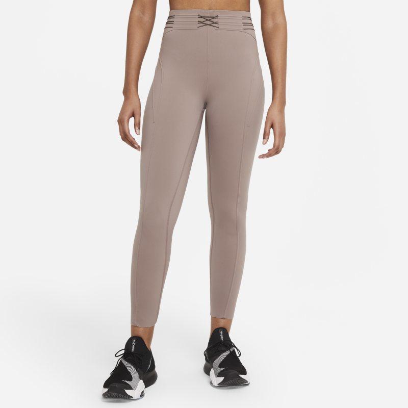 Nike City Ready Leggings de 7/8 de entrenamiento - Mujer - Marrón